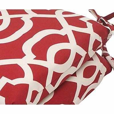 Pillow Perfect Indoor/Outdoor Geo Red, Set Home