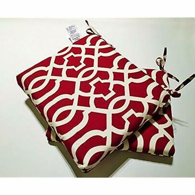 Pillow Perfect Geo Squared Red, Set Home