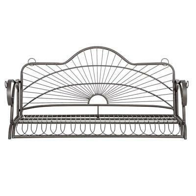Metal Porch Hanging Bench Patio Deck