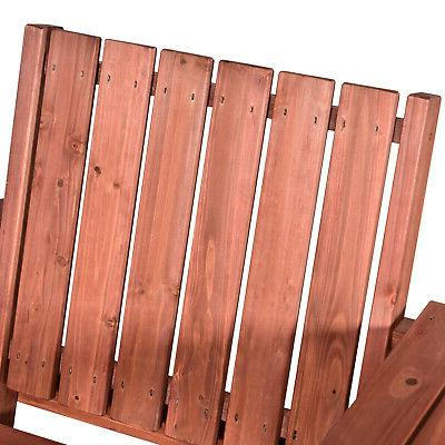 Outsunny Outdoor Wooden Double with