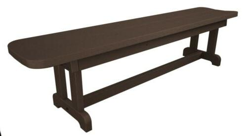 pbb72ma park 72 harvester backless bench in
