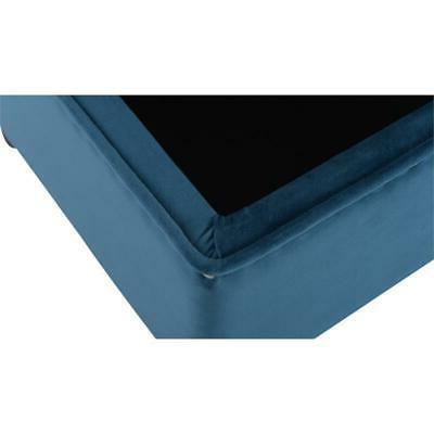 Renee Storage Bench Satin Teal