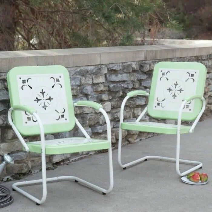 Retro Lawn Porch Armchair Vintage Patio Garden