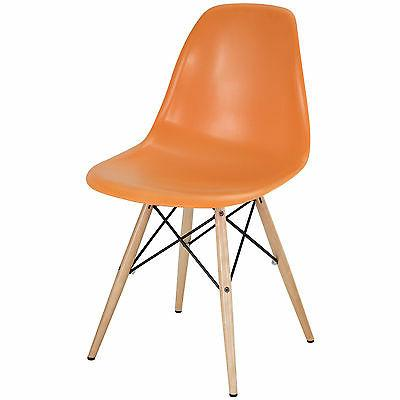 set of 4 eiffel side chair wood