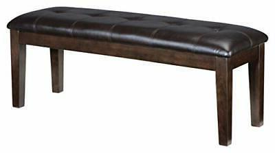 Signature Design by Ashley Haddigan Dining Room Bench, Dark