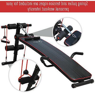 Sit Workout Home Gym Black