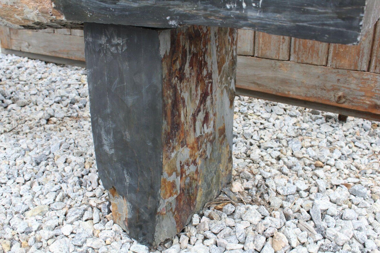 Stone Bench 63''x19''x12'' Outdoor Way, Park #101