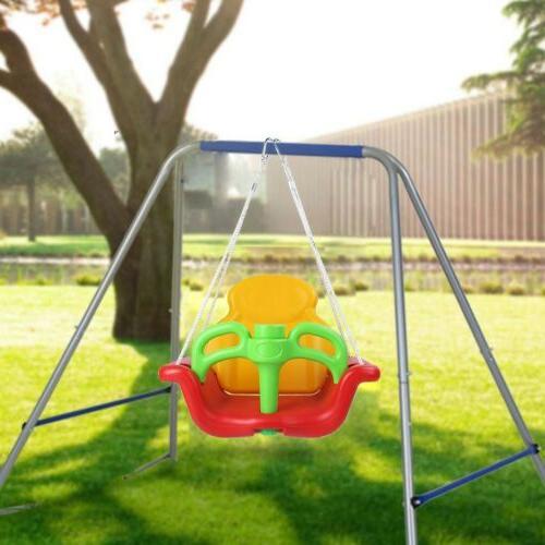Swing Set Slide Fun Toddler Kid