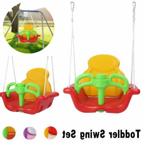 swing set for small yard backyard metal