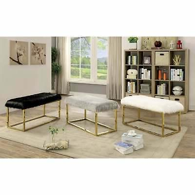 Tula 40-inch Upholstered Bench by FOA