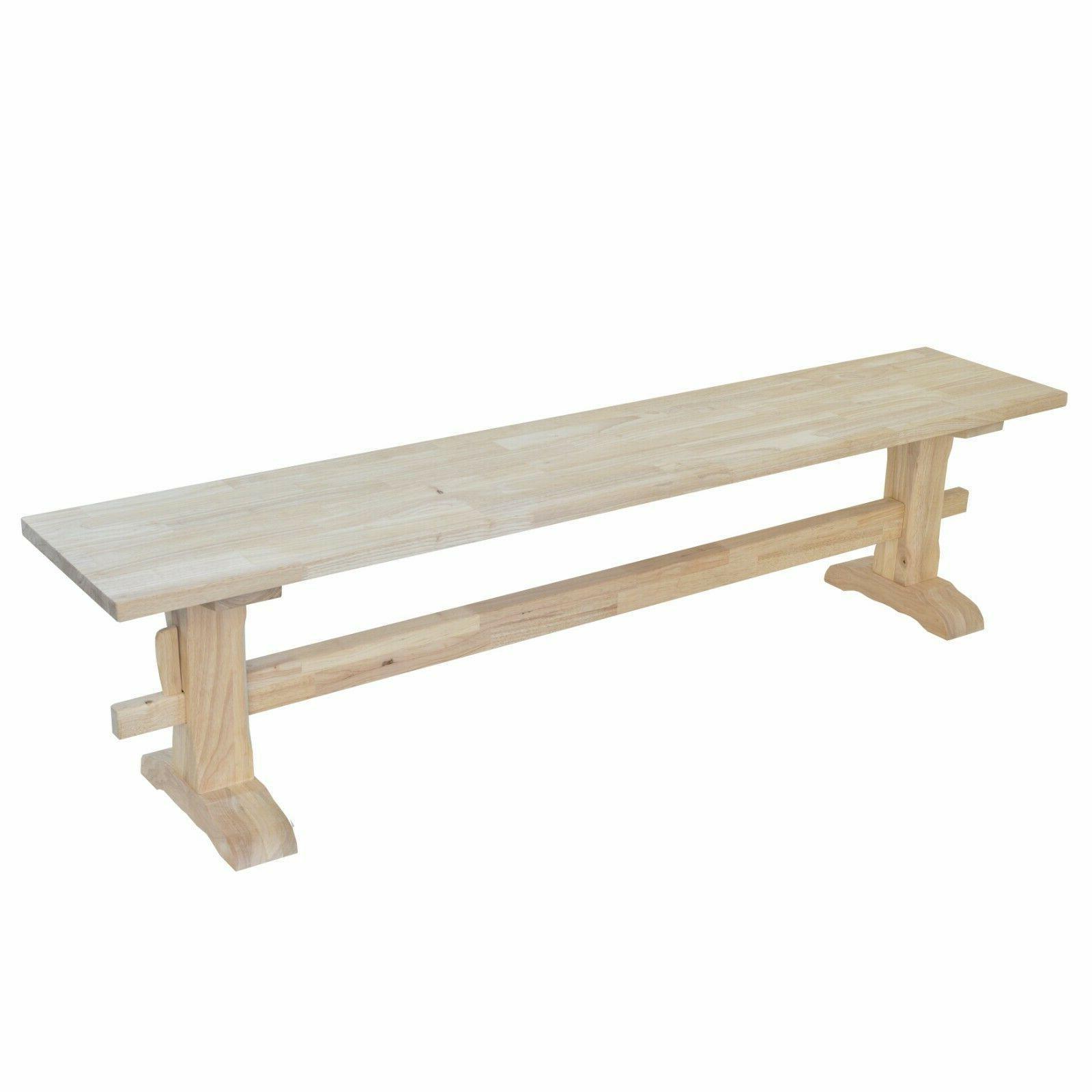 Unfinished Bench/Pedestal