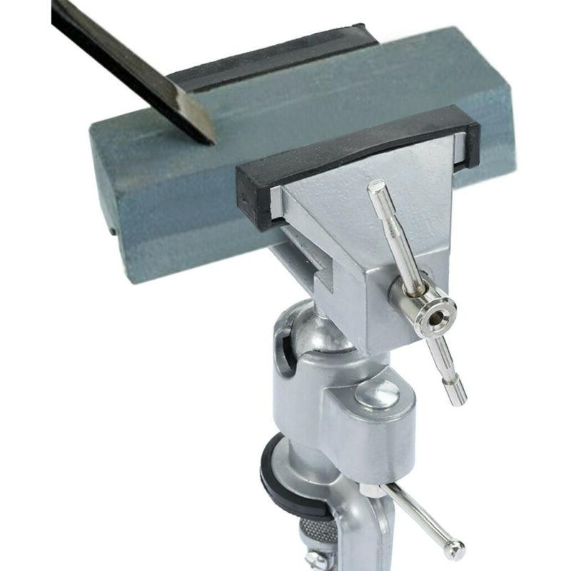 """3"""" Table Bench Vise Work Bench Swivel US!"""