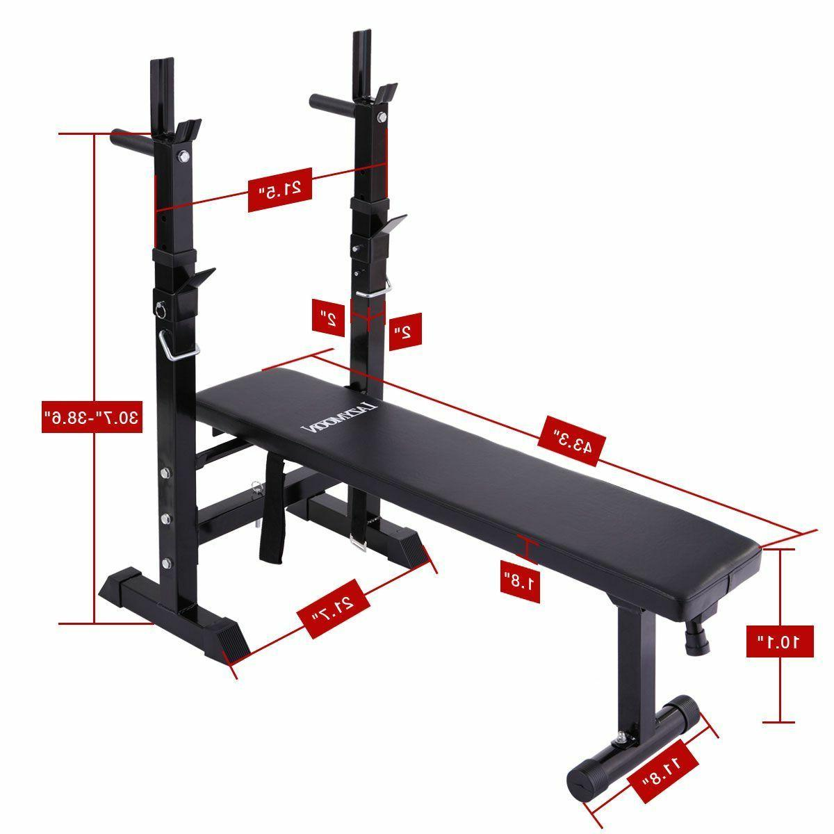 Weight Bench Home Gym Workout Lifting Folding