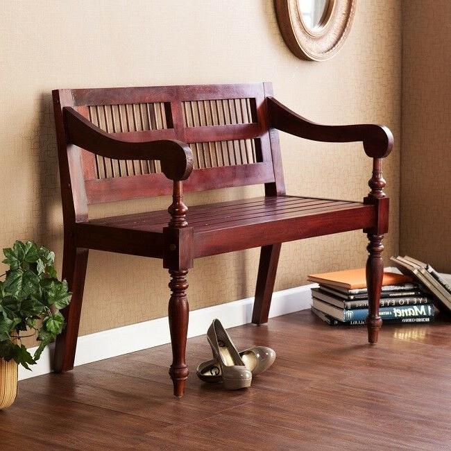 wood bench entryway foyer mud room country