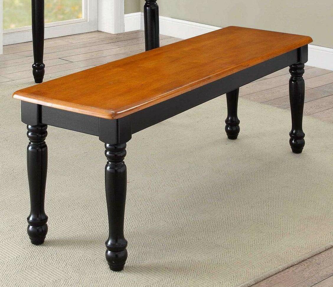 Wood Dinning Black Color Furniture