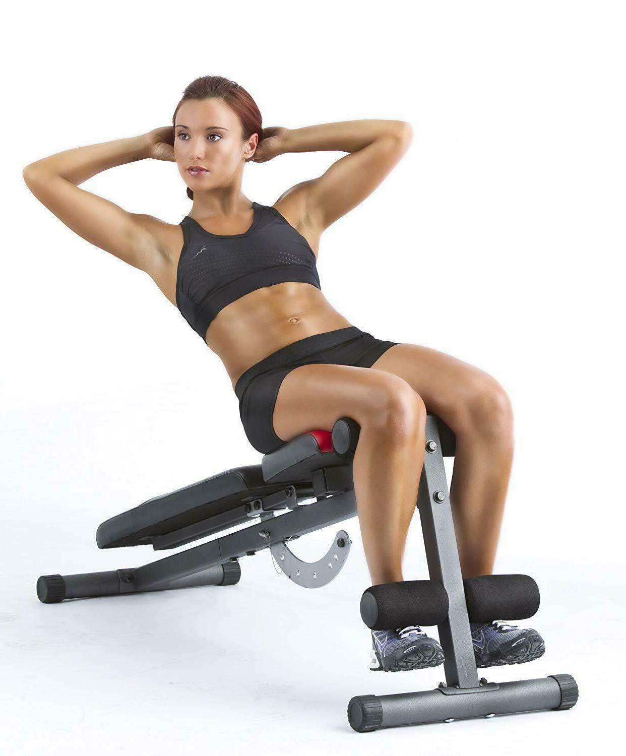 Workout Decline Incline Flat Exercise Gym for dumbbell