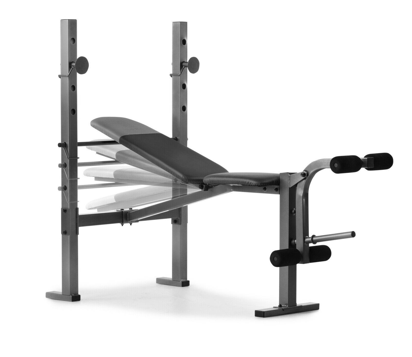 Weider 6.1 Multi-Position Weight Developer and