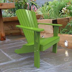 Malibu Outdoor Living Hyannis Adirondack Chair Polywood Lime