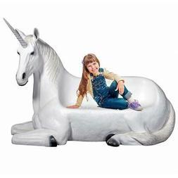 Design Toscano Mystical Horned Unicorn Sculptural Bench