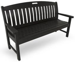 Nautical 60 Bench - Finish: Black
