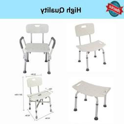 Old Man Bathroom Armchair Shower Chair Bench Stool Seat Whit