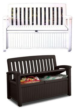 outdoor furniture storage deck box 60 gallon