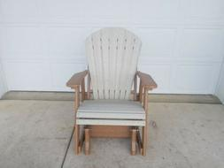 Polywood outdoor Glider Maintenance Free