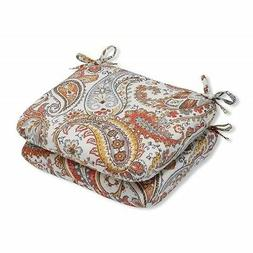 Pillow Perfect Outdoor/Indoor Hadia Sunset Rounded Corners S