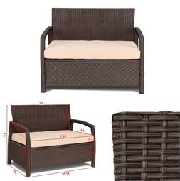 Outdoor Loveseat Patio Bench Deck Chair Garden Couch Chair Y