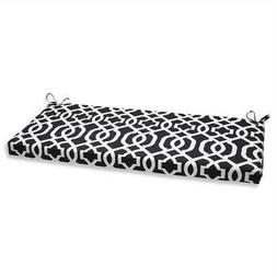 Outdoor New Geo Black/White Bench Cushion