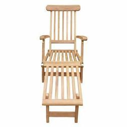 Seven Seas Teak Outdoor Steamer Chair