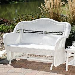 Pleasant Bay 5 Foot Curved Back Outdoor Porch Wood Rocker Gl