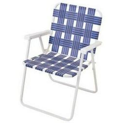 RIO Gear Rio Brands BY055-0138 Folding Web Chair, Wht Steel