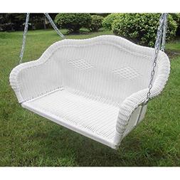 International Caravan 3183-WT-IC Furniture Piece Resin Wicke