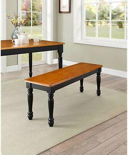 Dining Bench Seat Oat And Black For Dining Table Kitchen Roo