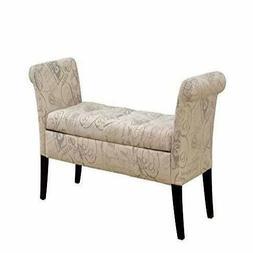 Furniture of America Storage Benches, Beige