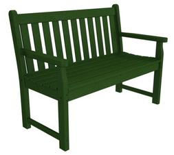 Traditional Garden 48-Inch Bench