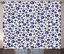 Vintage Bohemian Curtains 2 Panel Set Decoration 5 Sizes Win