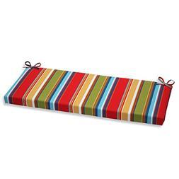 Pillow Perfect Outdoor Westport Garden Bench Cushion, Multic