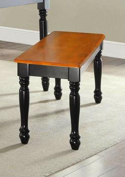 wood dinning table bench seat home kitchen